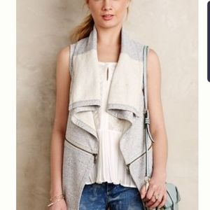 French terry vest